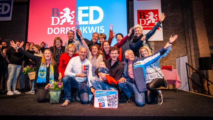 Berghem wint de BD/ED Dorpenkwis