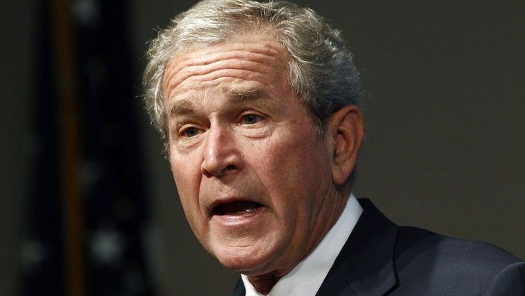 Oud-president George W. Bush. Beeld reuters