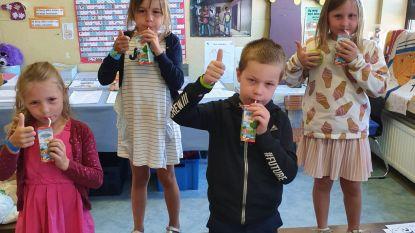 FrieslandCampina trakteert op gratis melk in basisscholen Aalter