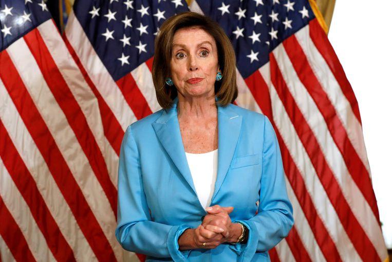 Voorzitter van het Amerikaanse Huis van Afgevaardigden Nancy Pelosi