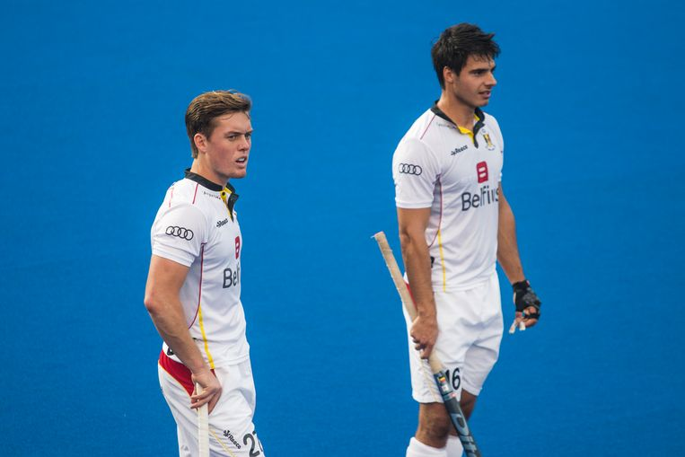 Alexander Hendrickx, hier rechts van Tom Boon.