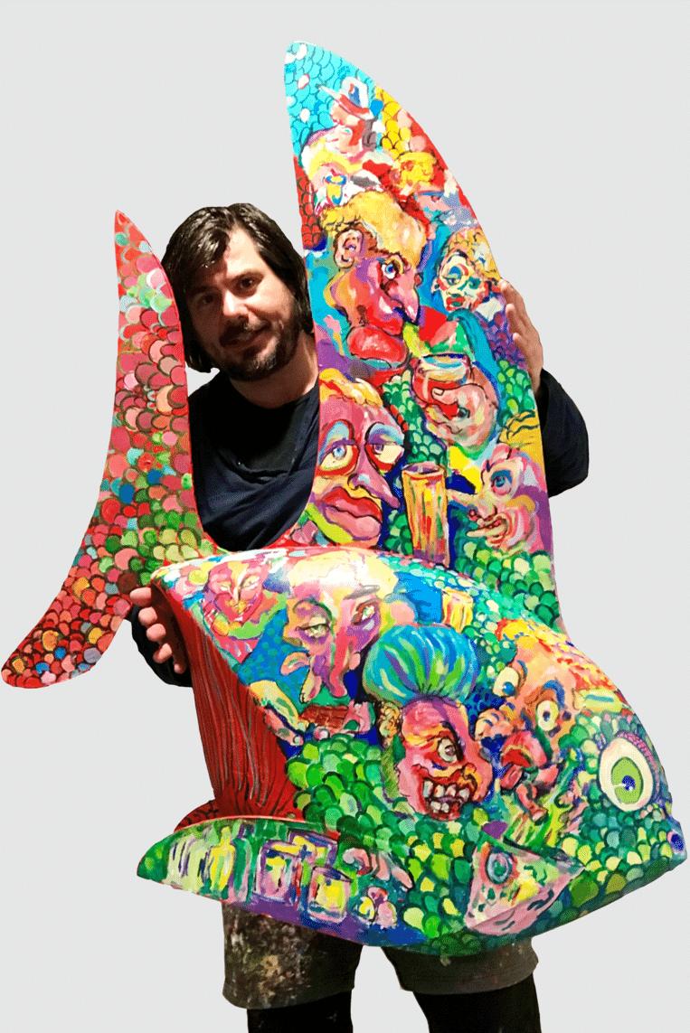 Kunstenaar Jan Scheirs