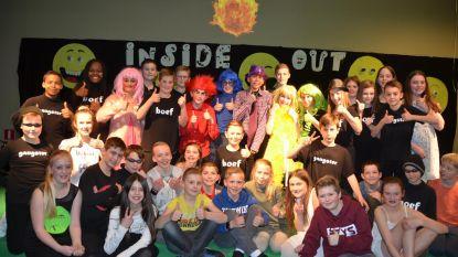 VBS Borsbeke voert de musical 'Inside out' op