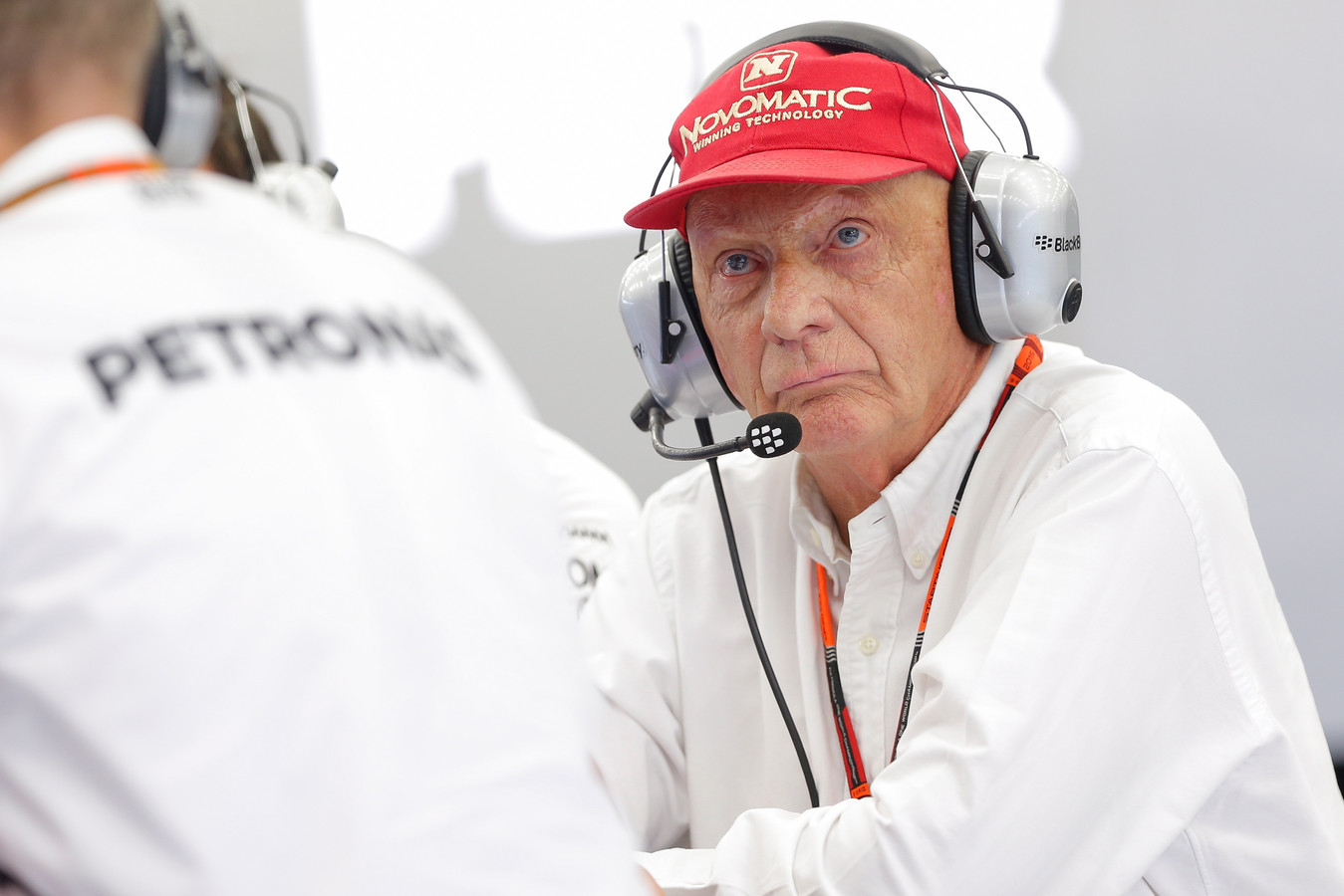 Niki Lauda was de laatste jaren technisch adviseur bij het Formule 1-team van Mercedes