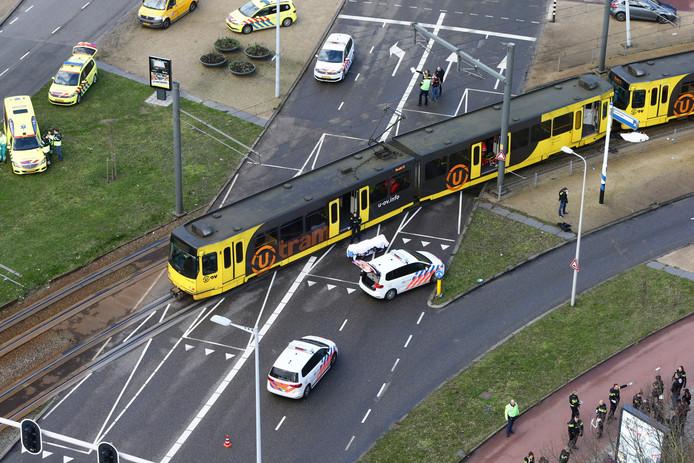 De aanslag op het 24 Oktoberplein in Utrecht.