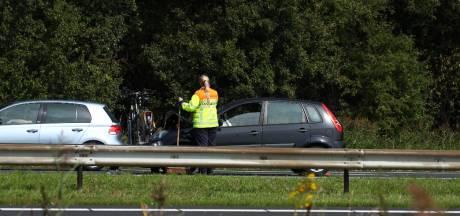 Files op A58 in en uit Zeeland door ongevallen