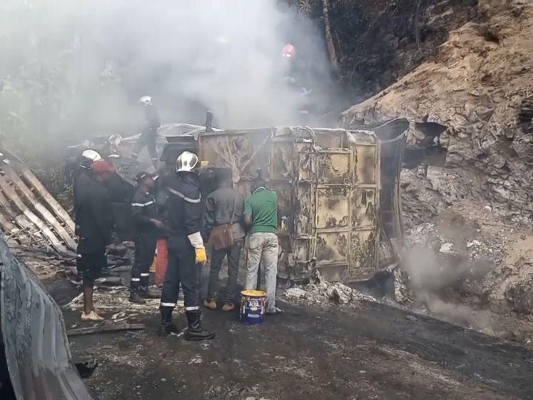 Zeker 53 doden bij busongeluk in Kameroen