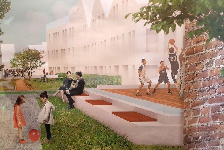 Een beeld van hoe het project Kerkevekld er zal uitzien in Ruisbroek.