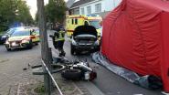 Motorrijder sterft na frontale botsing