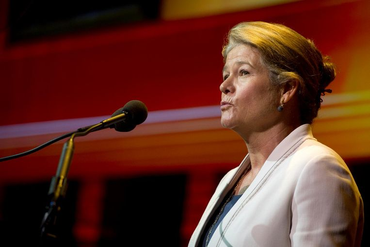Charlene Lucille de Carvalho-Heineken à 12,5 miljard euro. Beeld anp