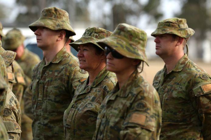 Reservisten worden in Australië ingezet om de bosbranden te bestrijden.