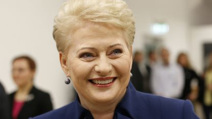 Litouwse 'IJzeren Dame' aan de leiding met 46,5 procent van de stemmen