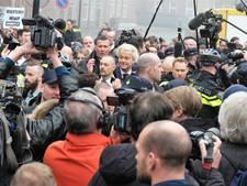 Politie alert bij komst van Wilders