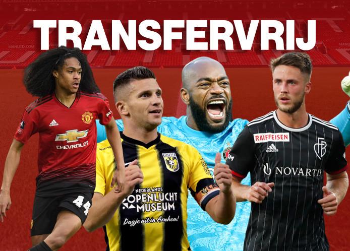 Deze Nederlanders zijn aan het einde van het seizoen transfervrij.
