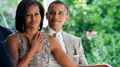 """Barack Obama feliciteert zijn vrouw Michelle met ontroerende foto: """"Je bent niet alleen mijn vrouw, je bent mijn allerbeste vriend"""""""