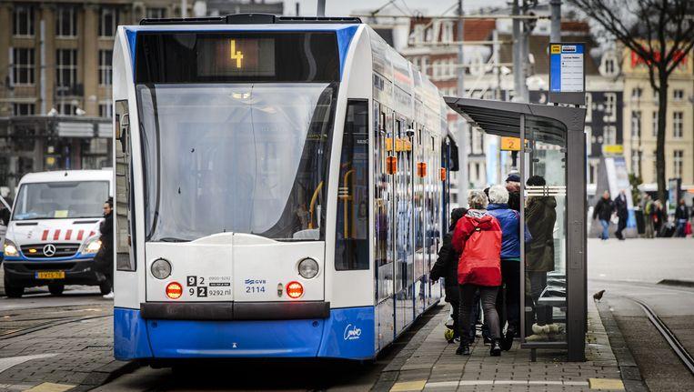 Met de ingebruikname van de Noord/Zuidlijn gaat bijna de helft van de Amsterdamse lijnen anders rijden Beeld ANP