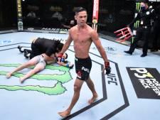 Vluchtig begin in UFC: eerste drie gevechten binnen minuut beslist