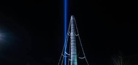 Lichtpiramide is uitgedoofd boven Oude IJsselstreek, maar komt terug