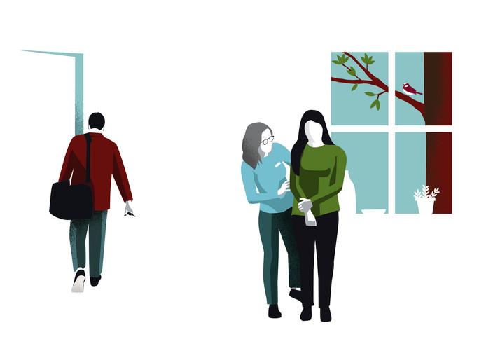 Buurtzorg Jong helpt gezinnen met de opvoeding en bij het aanbrengen van structuur. Ook bij ingrijpende veranderingen zoals bijvoorbeeld een echtscheiding kan een beroep op hen worden gedaan.