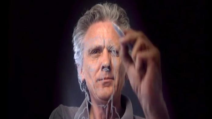 Peter Pontiac in een documentaire van de VPRO.