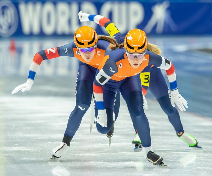 Michelle de Jong, Jutta Leerdam en Sanneke de Neeling