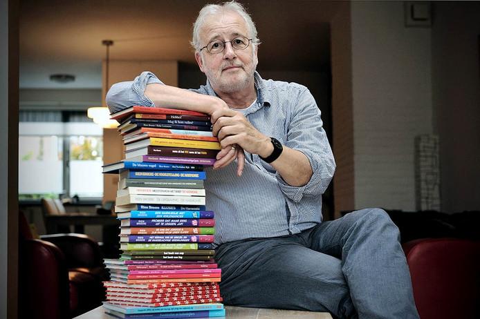 25 jaar kinderboekenschrijver rien broere uit roosendaal - foto: peter van trijen - pix4profs