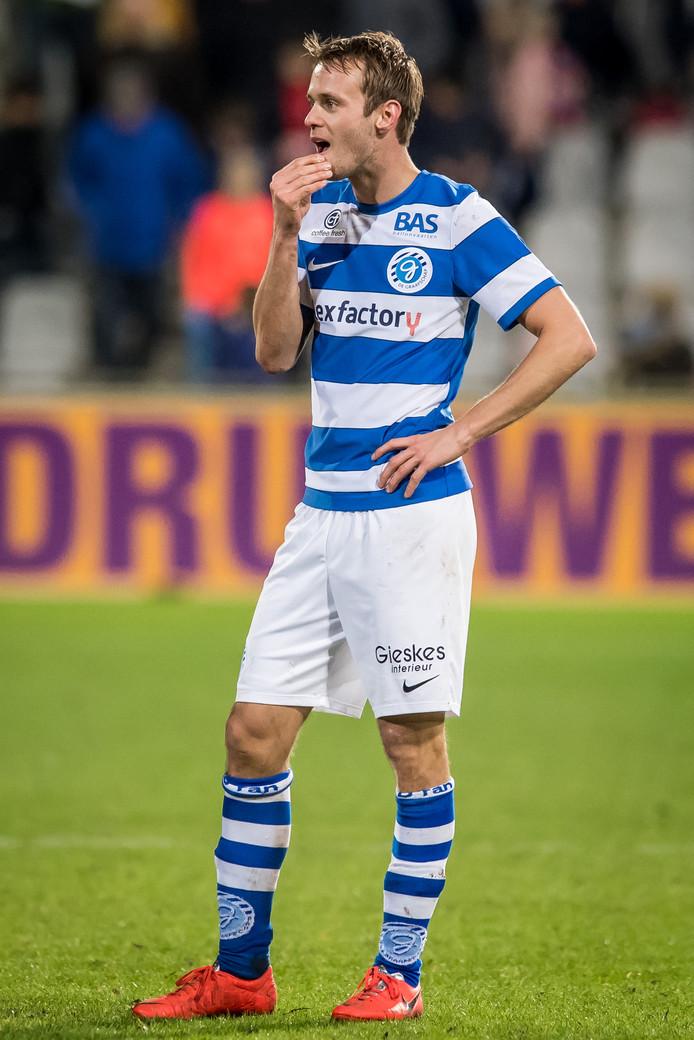 De Graafschap-voetballer Frank Olijve.