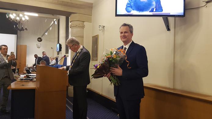 Evert Weys is tijdelijk geïnstalleerd als wethouder van Bergen op Zoom.
