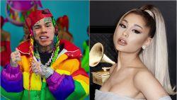 Rapper 6ix9ine beschuldigt Ariana Grande van fraude