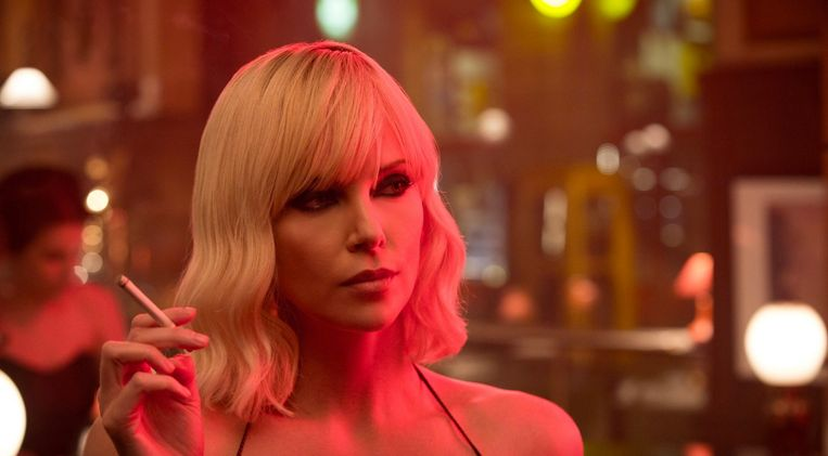 Charlize Theron in 'Atomic Blonde'.