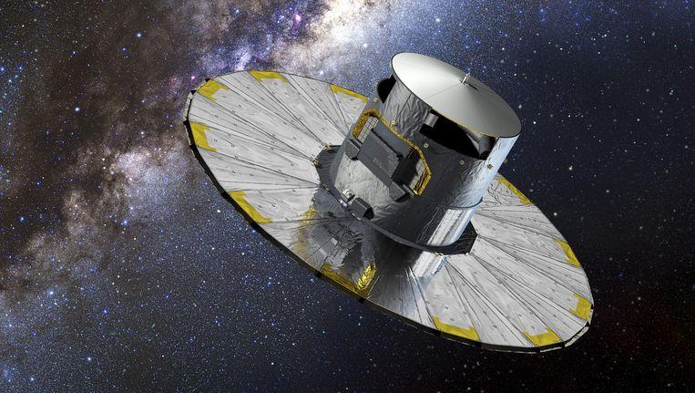 De 'nieuwe maan' bleek de satelliet Gaia van ESA.