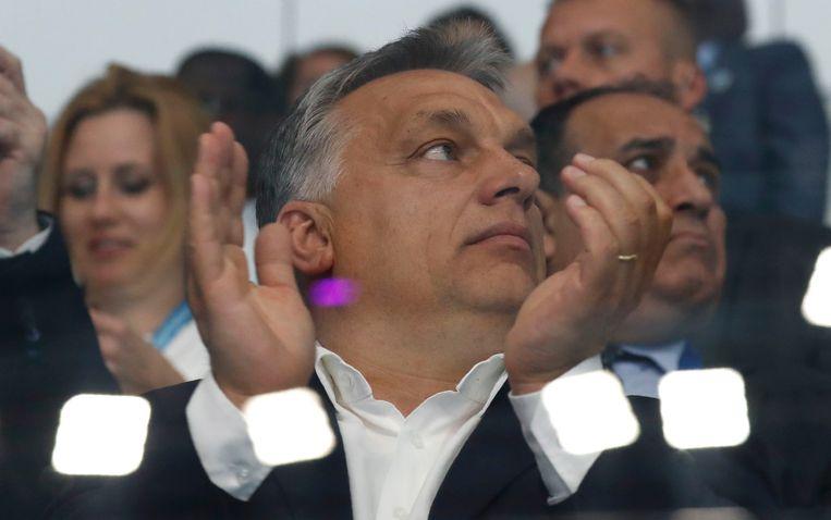 De Hongaarse premier Orbán acht het ondenkbaar dat islamitische vluchtelingen naar Hongarije komen Beeld REUTERS