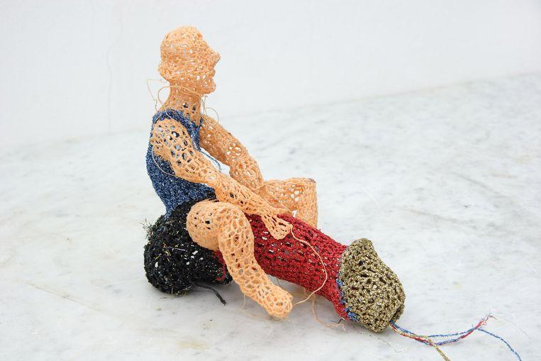 Werk van Johanna Schweizer. Beeld Peter Cox