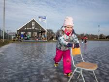 Bijna overal schaatsen op de Veluwe