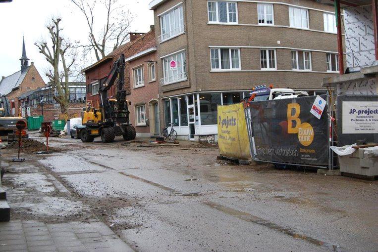 Werken Slachthuisstraat Sint-Truiden.