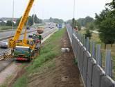 Géén nieuwe schermen langs A59 Elshout; wel erg stil asfalt