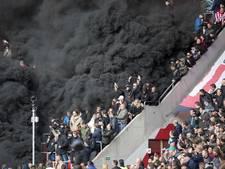 PSV-baas Gerbrands des duivels na actie met rookbommen