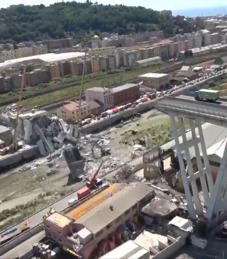 Genua staat exact jaar na brugdrama even stil