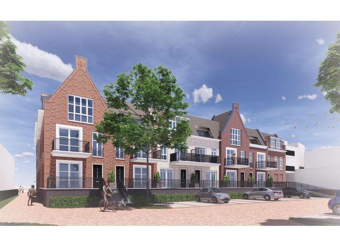 Niels Oude Nijhuis van De Magnolia wil dat bevoorrading van de winkels in de Schildhof aan de linkerzijde gebeurt.
