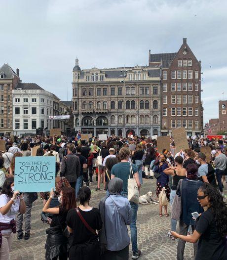 Halsema: 1,5-meterregel geen reden om demonstratie te beëindigen