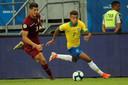 David Neres won vorige week met Brazilië de Copa América in eigen land.