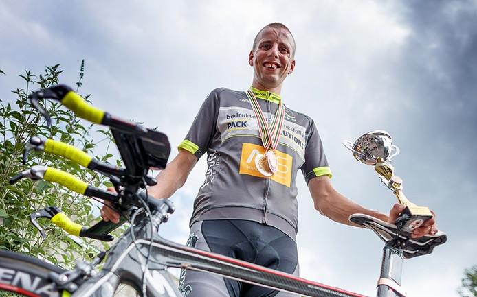 Davy Mertens uit Oudenbosch is de snelste wielrenner bij de G-sporters.