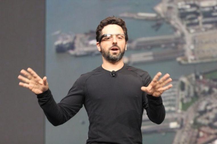 null Beeld Sergey Brin. EPA