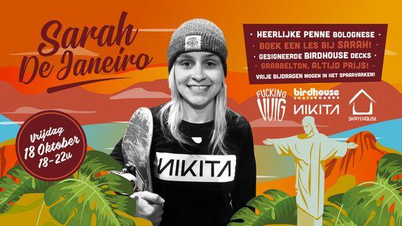 De affiche van Sarah De Janeiro