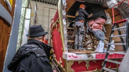 Omstreden wagen met 'Jodenkoppen' zal ook morgen uitrijden op Aalst Carnaval
