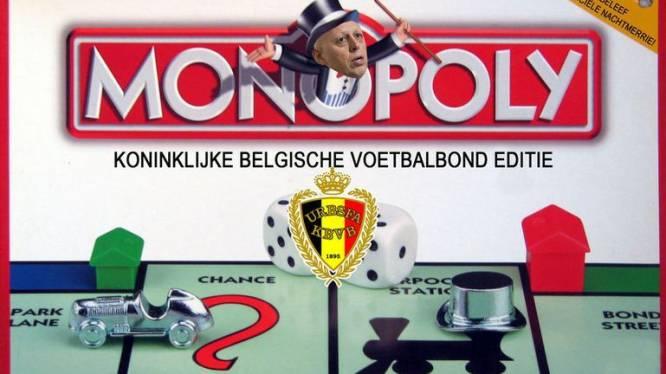 """""""Maak zoveel mogelijk verlies met het Monopolyspel van de KBVB!"""""""