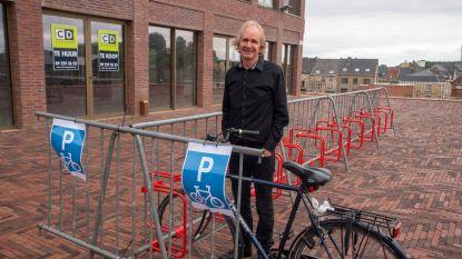 50 extra parkeerplaatsen voor fietsen in Wetteren