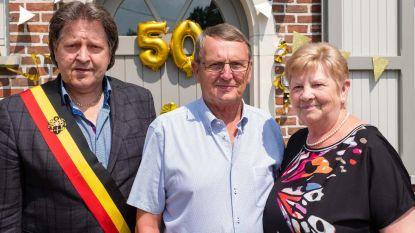 Gust en Monique vieren 50 jaar huwelijksgeluk