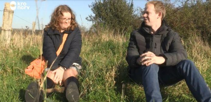 Boer Willen uit Hei- en Boeicop op date met Jolinda.