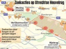 Mariniers zoeken door in groot gebied Heuvelrug
